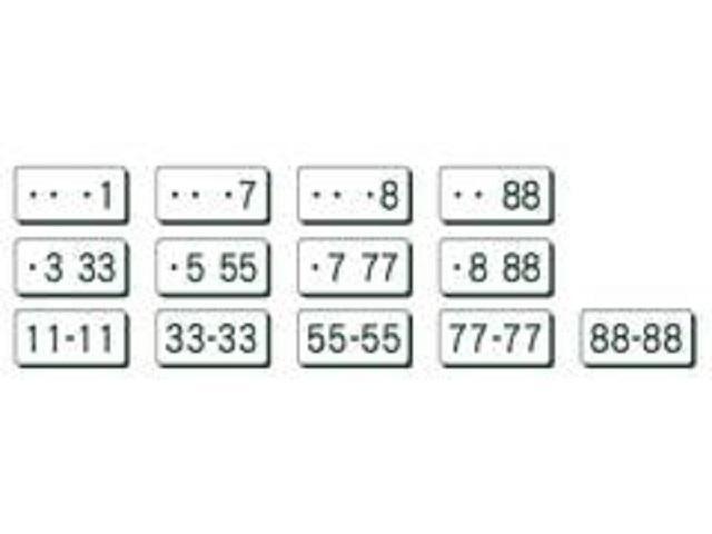 ・希望ナンバーパック お客様のご希望とされるナンバーをセットにしたプランです。記念日やお気に入りの数字などお好きなナンバーを愛車に付けましょう!※一部取得出来ないナンバーが御座います。