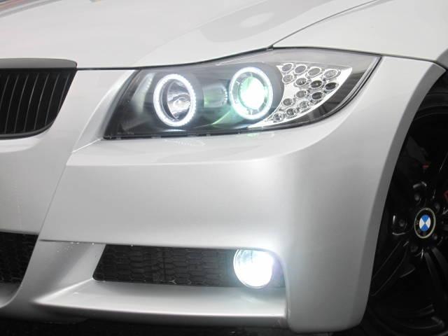 320i HDDナビ 新品18AW 新品前後LEDライト(9枚目)