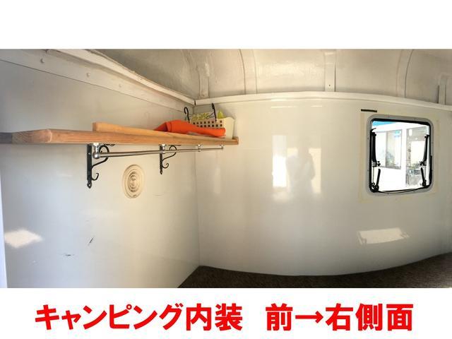 キャンピング ベッドキット サブバッテリー AC電源 ナビ付(2枚目)
