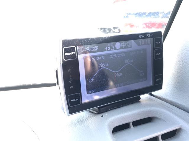 PAターボ インチアップ シートカバー HDDナビ ETC ユピテルレーダー インパネ4速AT(15枚目)