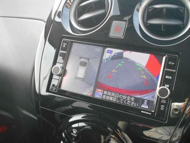 アラウンドビューカメラは車の全周囲をカメラで映しだして障害物を確認、周りの状況を確認できて安全に駐車できる快適な機能です