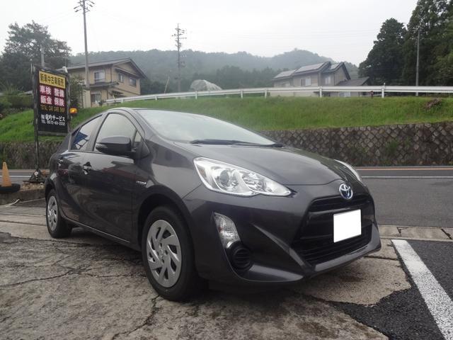 「トヨタ」「アクア」「コンパクトカー」「岐阜県」の中古車3