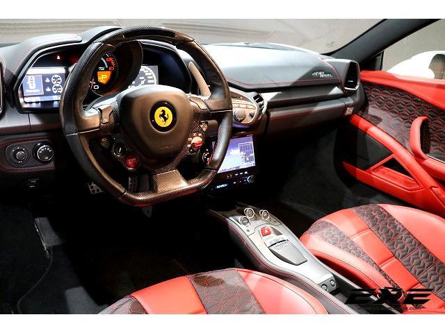 「フェラーリ」「458イタリア」「クーペ」「岐阜県」の中古車7
