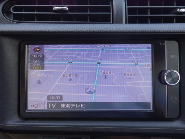 トヨタ アクア G メモリーナビTV Bモニター ETC シートヒーター
