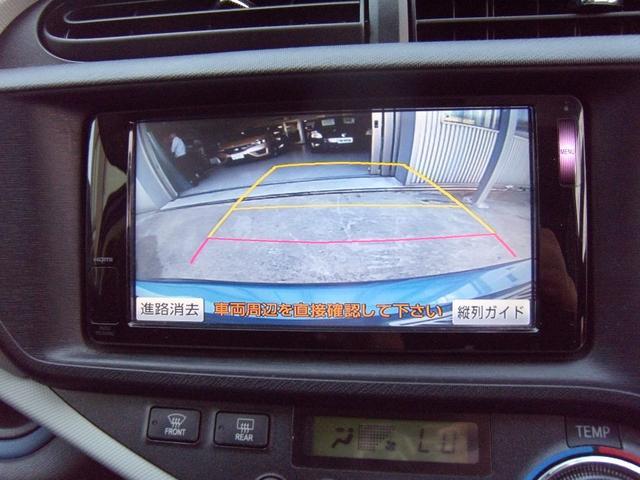 トヨタ アクア S 純正SDナビ フルセグTV ナビ連動ETC