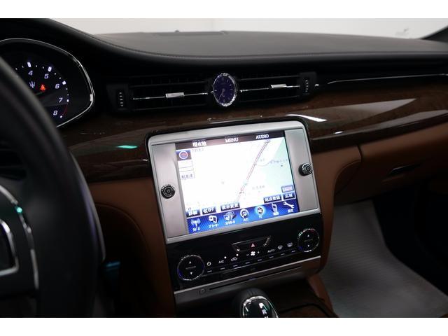 マセラティ マセラティ クアトロポルテ GT S ブラウン革 純正HDDナビ サンルーフ 21AW