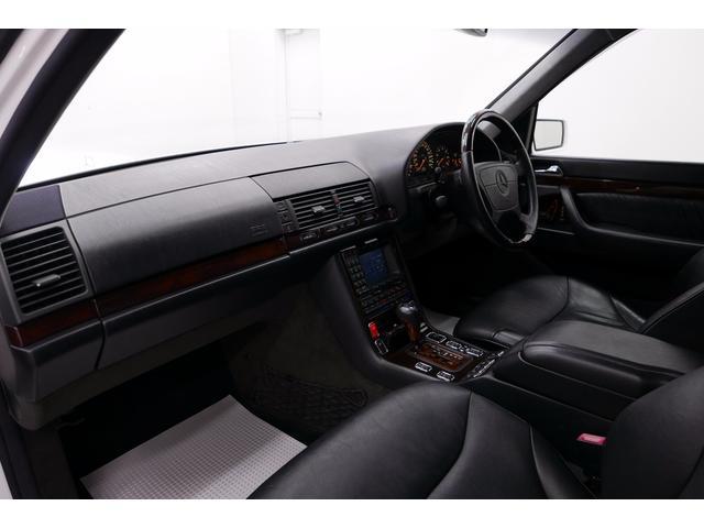 メルセデス・ベンツ M・ベンツ S320 黒革 サンルーフ ディーラー車 98y最終モデル