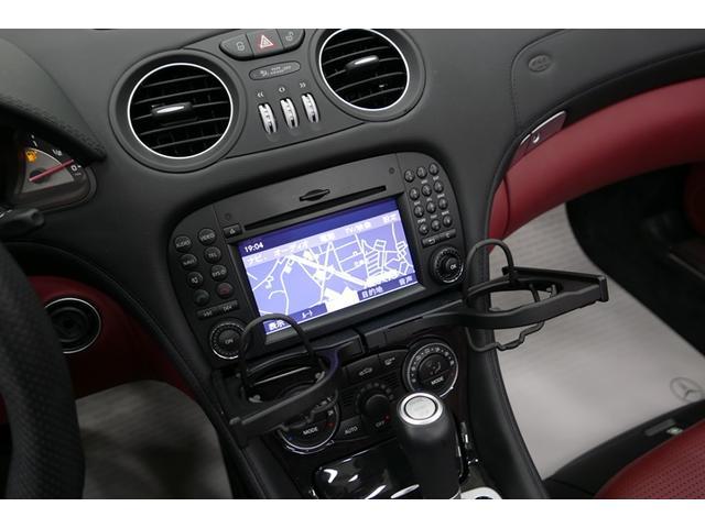 メルセデス・ベンツ M・ベンツ SL63 AMG 赤革 純正HDDナビ バックカメラ ETC