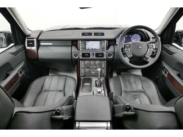 ランドローバー レンジローバーヴォーグ 5.0 V8 黒革 サンルーフ ETC サイド・バックカメラ
