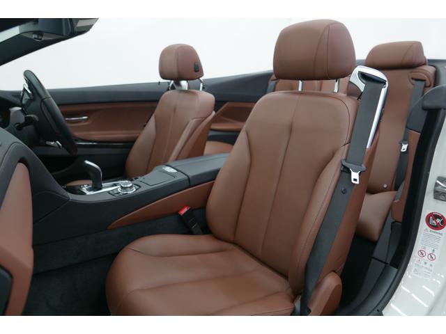 BMW BMW 640iカブリオレ ブラウン革 純正HDDナビ バックカメラ