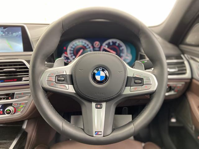 740d xDrive Mスポーツ 4WD ディーゼルターボ 茶革 サンルーフ 純正HDDナビ フルセグTV ETC 全周囲モニター 後席モニター リアタブレット型リモコン シートヒーター&クーラー 純正ドライブレコーダー パドルシフト(23枚目)
