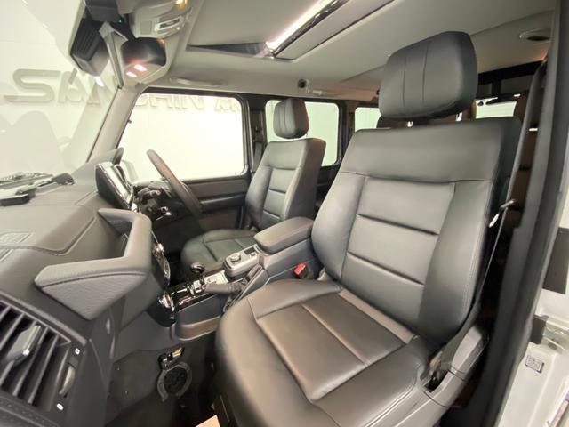 G350d ラグジュアリーパッケージ ディストロニックプラス 黒革 サンルーフ 社外ナビ フルセグTV バックカメラ ETC ハーマンカードン ブラインドスポットアシスト ディーゼルターボ ワンオーナー(11枚目)