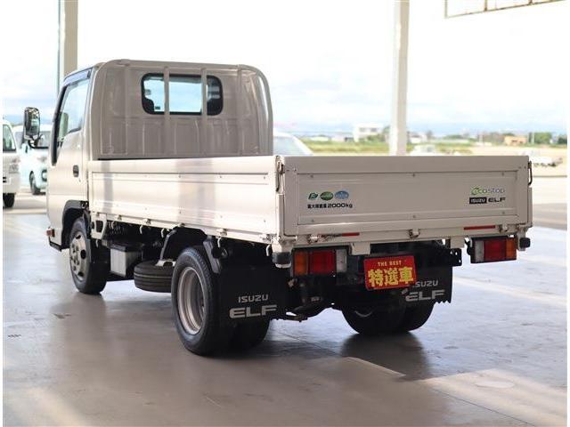 フルフラットロー 2トン積み 10尺荷台 クリーンディーゼル車 助手席側電動格納ドアミラー ETC(7枚目)