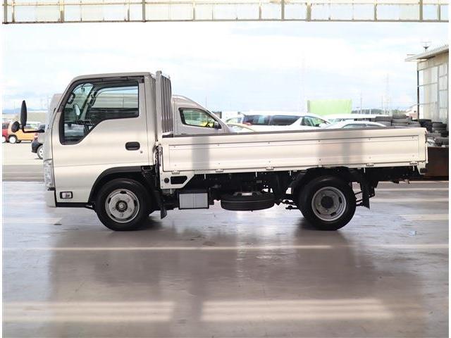 フルフラットロー 2トン積み 10尺荷台 クリーンディーゼル車 助手席側電動格納ドアミラー ETC(8枚目)