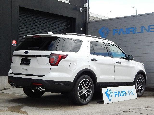 フォード フォード エクスプローラー スポーツ 4WD エコブースト ツインルーフ パワーゲート