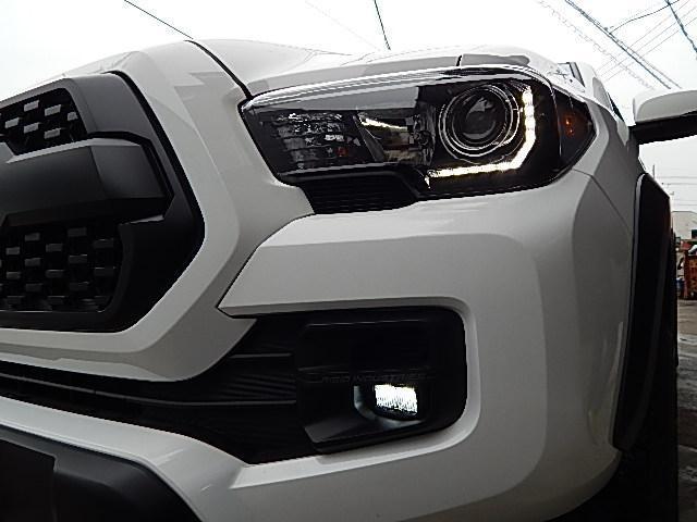 ダブルキャブ TRDプロ 4WD 2019年モデル 黒革(7枚目)
