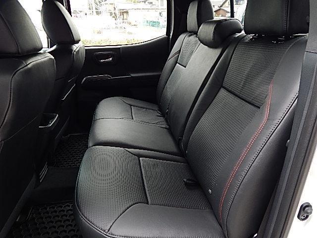 ダブルキャブ TRDプロ 4WD 2019年モデル 黒革(20枚目)