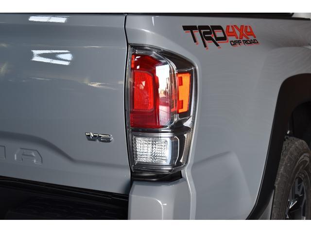 ダブルキャブ TRDオフロード 4WD 2021年モデル アップルカープレイ(8枚目)