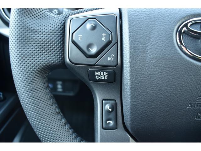 ダブルキャブ TRDオフロード 4WD 2021年モデル アップルカープレイ(24枚目)