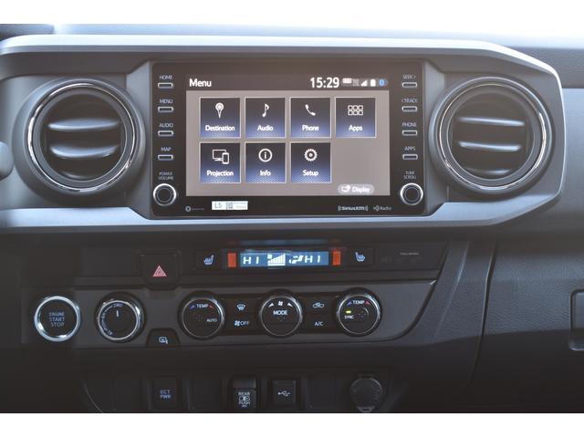 ダブルキャブ TRDオフロード 4WD 2021年モデル アップルカープレイ(27枚目)