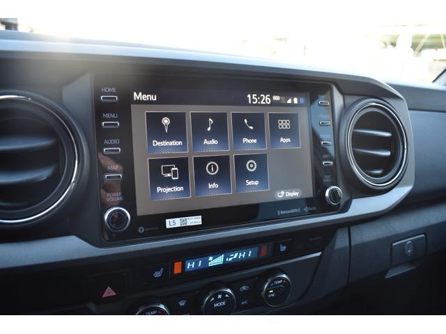 ダブルキャブ TRDオフロード 4WD 2021年モデル アップルカープレイ(29枚目)