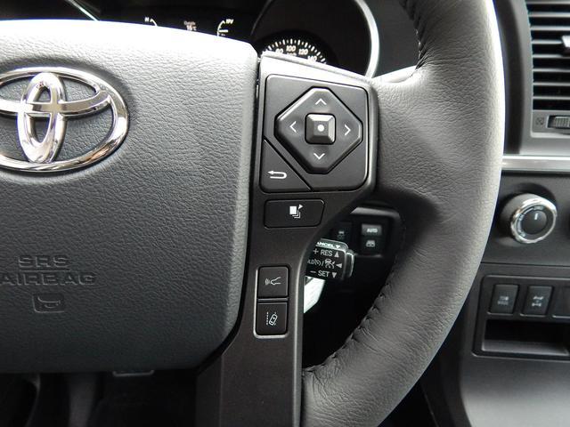 米国トヨタ セコイア SR5 4WD TRDスポーツ TSS-P 2018年モデル
