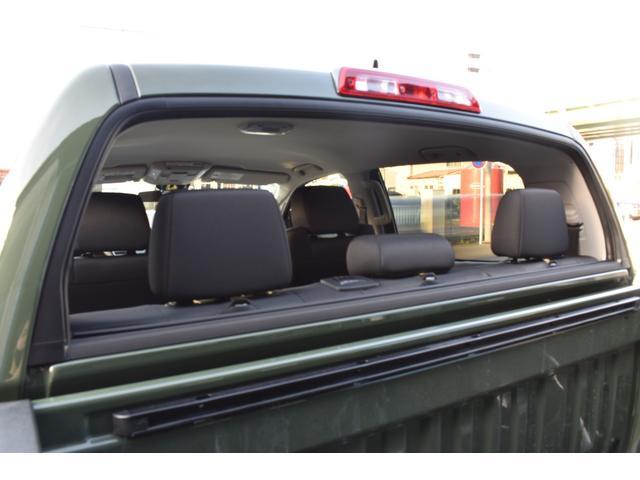 クルーマックス SR5 トレイルエディション 4WD アーミーグリーン プレデターサイドステップ アップルカープレイ ブラックバッジ(37枚目)