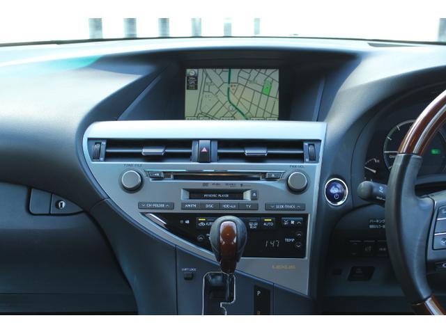 レクサス RX RX450h バージョンL スピンドルバンパー仕様