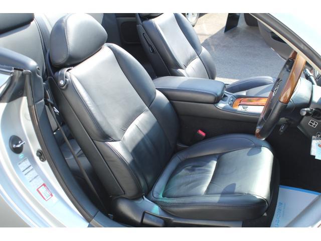 レクサス SC SC430 DVDマルチ 黒革シート