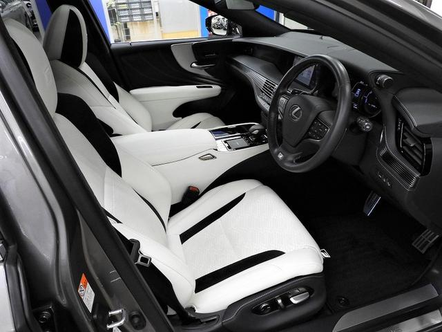 LS500h Fスポーツ モデリスタエアロSR純正SDナビTVパノラミックビュー本革シート&シートヒーター純正20AWレーダークルーズ&プリクラッシュLEDヘッド(12枚目)