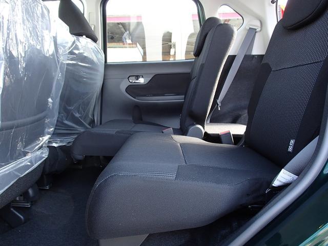リヤシートのスライド量です!!240mmスライドします!!こんなにもスライドするので、色々な使い方ができます!!