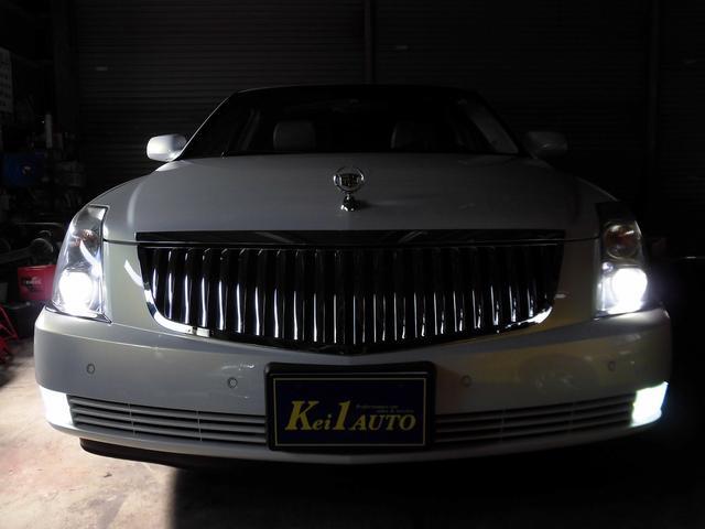 キャデラック キャデラック DTS 本革 純正ナビ ディーラー車 メッキ20アルミ メッキグリル