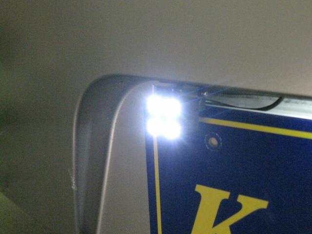 HDDナビ LEDバックカメラ HIDヘッド LED 実走行(18枚目)