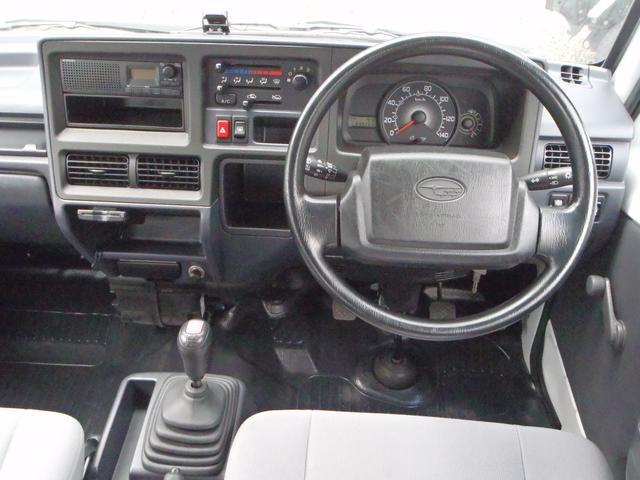 スバル サンバーバン VB 5速マニュアル 4WD エアコン パワステ ETC
