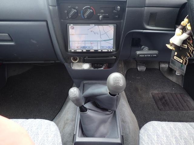 Sキャブ リフトアップ 4WD 5MT ディーゼル車(13枚目)