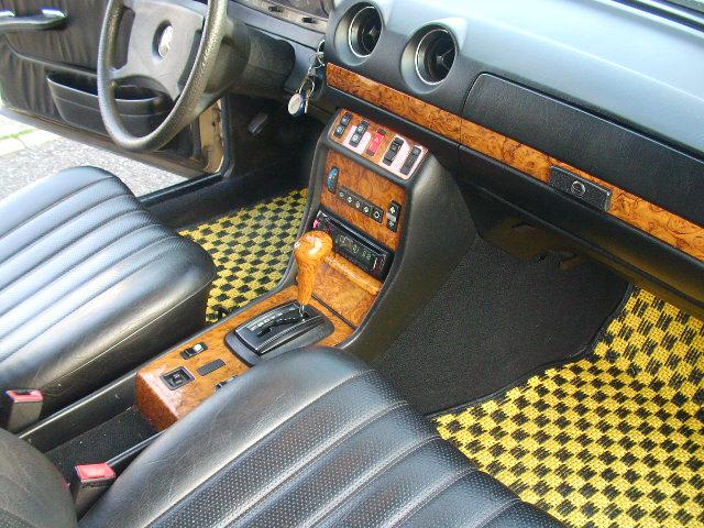 メルセデス・ベンツ M・ベンツ 230TE W123  ウッドシフトレバー280TE