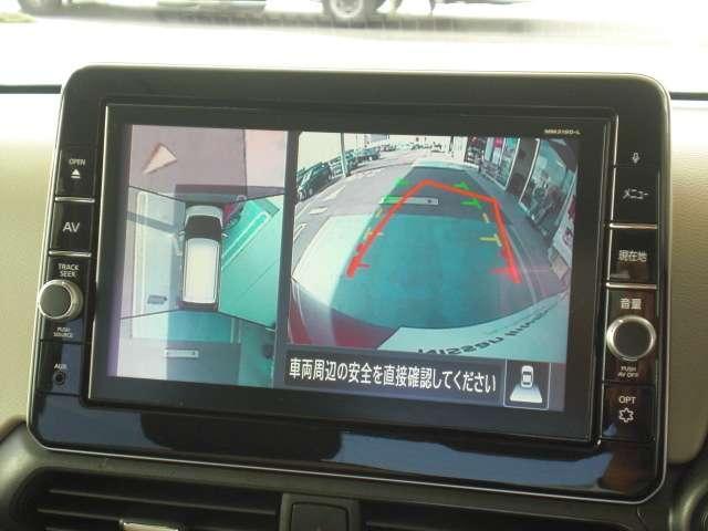 X 大画面メモリーナビ・アラウンドビューモニター・ハイビームアシスト・オートライト・アイドリングストップ・衝突軽減ブレーキ・踏み間違い衝突防止・車線逸脱警報・横滑り防止・14インチアルミ(6枚目)