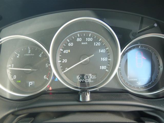 スピードメータも大きく見やすいデザイン!走行距離4.4万km台なのも魅力的ですね!