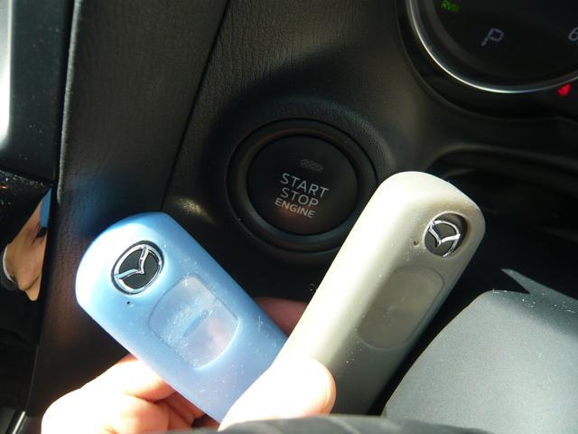 スマートキー2個セット!エンジンスタートボタンを押してスマートに!ドアの施錠もキーを出さずにドアハンドルに触れるだけでOK!