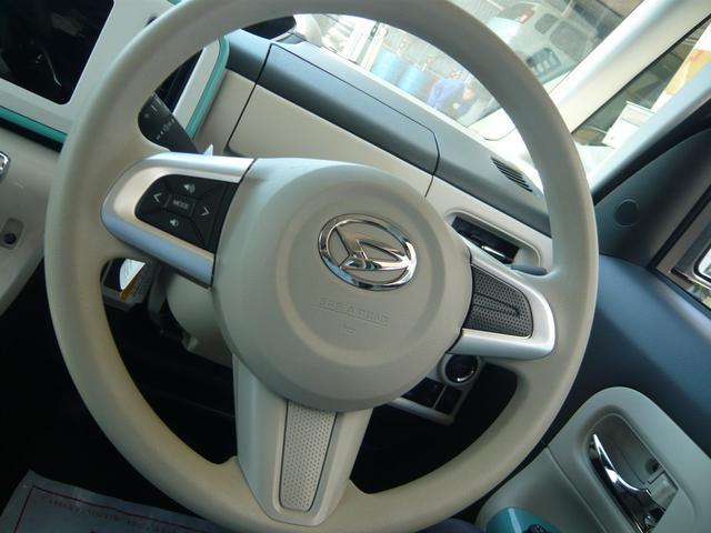 ステアリングスイッチ装備!手元のスイッチで音楽の選曲などが可能!目線を逸らさず操作が可能なので安全運転にも繋がります