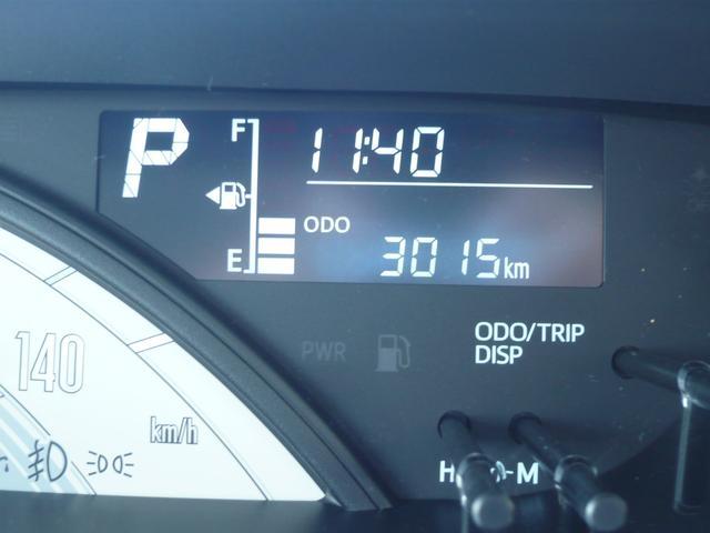 走行距離0.3万km台なのも魅力的!走行距離が少ないのは安心してお乗り頂ける要因の一つですね