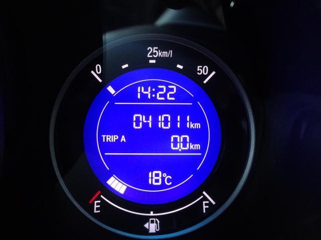 13G・Fパッケージ 衝突軽減装置シティブレーキ iストップ スマキー プッシュスタート ETC(24枚目)