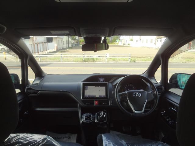 ハイブリッドV トヨタセーフティC 両側Pスライドドア 純正9インチメモリナビ リアモニタ LEDヘッド シートH 禁煙車 ワンオーナー(21枚目)