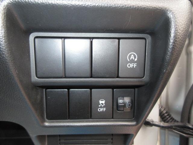 低燃費に貢献するアイドリングストップ機能、DCS&TCS機能付きです。
