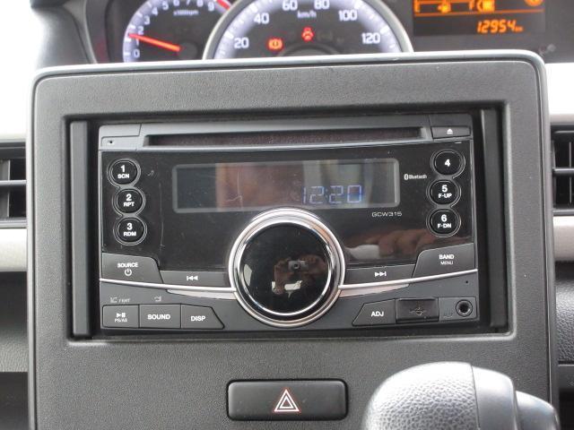 純正CDデッキ付き。Bluetooth接続可能です。