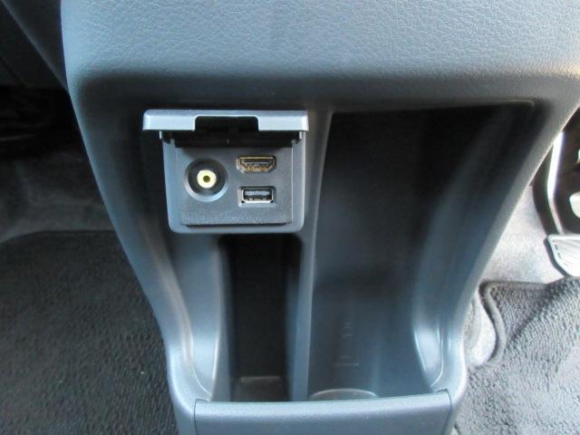 USBなどの入力端子が付けてあります