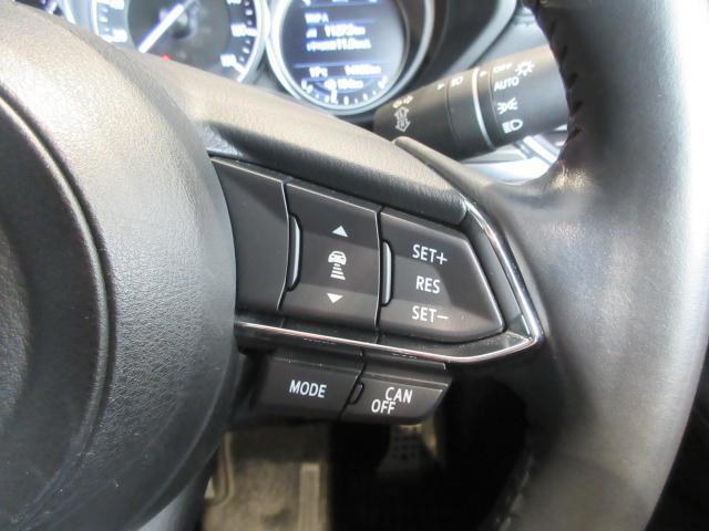 時速0〜100kmという幅広い速度域で、先行車に追従可能なレーダークルーズを採用しています。