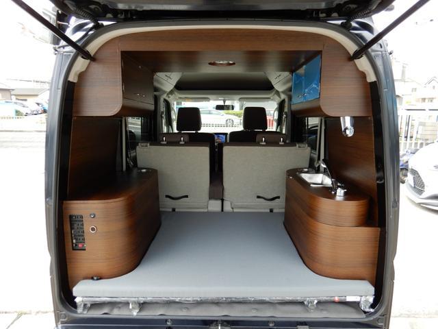 ジョインターボ ネクストキャンパープレミアムキット装着車・FIAMMAサイドオーニング・パナソニック120Wソーラーパネル・サブバッテリー・2000W最大出力インバーター・Bluetooth対応ナビ・リアカメラ・4名(30枚目)