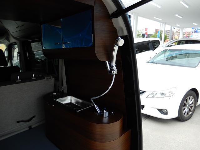 ジョインターボ ネクストキャンパープレミアムキット装着車・FIAMMAサイドオーニング・パナソニック120Wソーラーパネル・サブバッテリー・2000W最大出力インバーター・Bluetooth対応ナビ・リアカメラ・4名(41枚目)