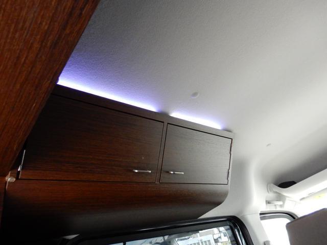 ジョインターボ ネクストキャンパープレミアムキット装着車・FIAMMAサイドオーニング・パナソニック120Wソーラーパネル・サブバッテリー・2000W最大出力インバーター・Bluetooth対応ナビ・リアカメラ・4名(44枚目)